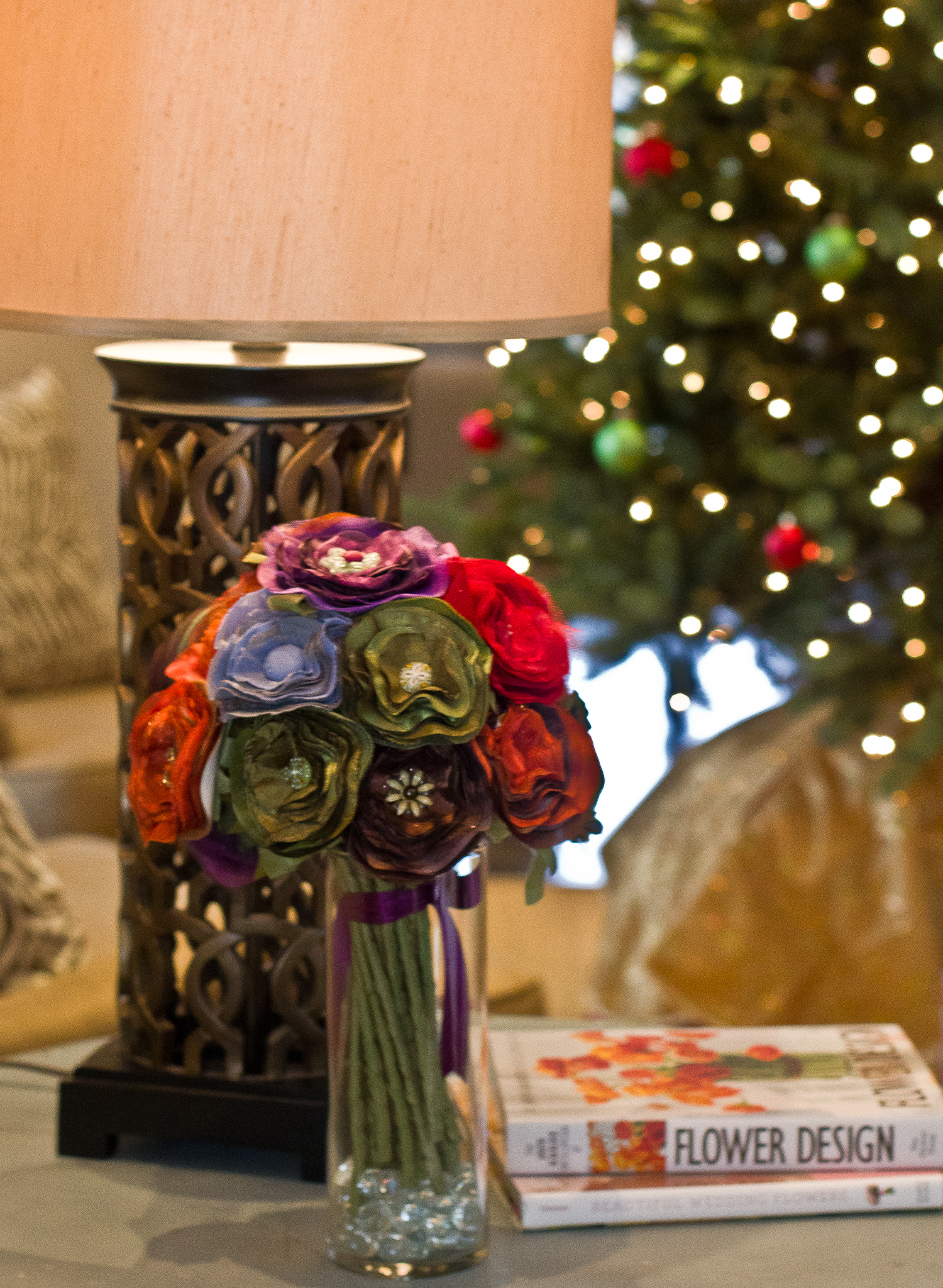 Home Decor Bouquet 5 Cmas Whimwed