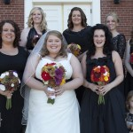 Melissa and Tim bridal party 2
