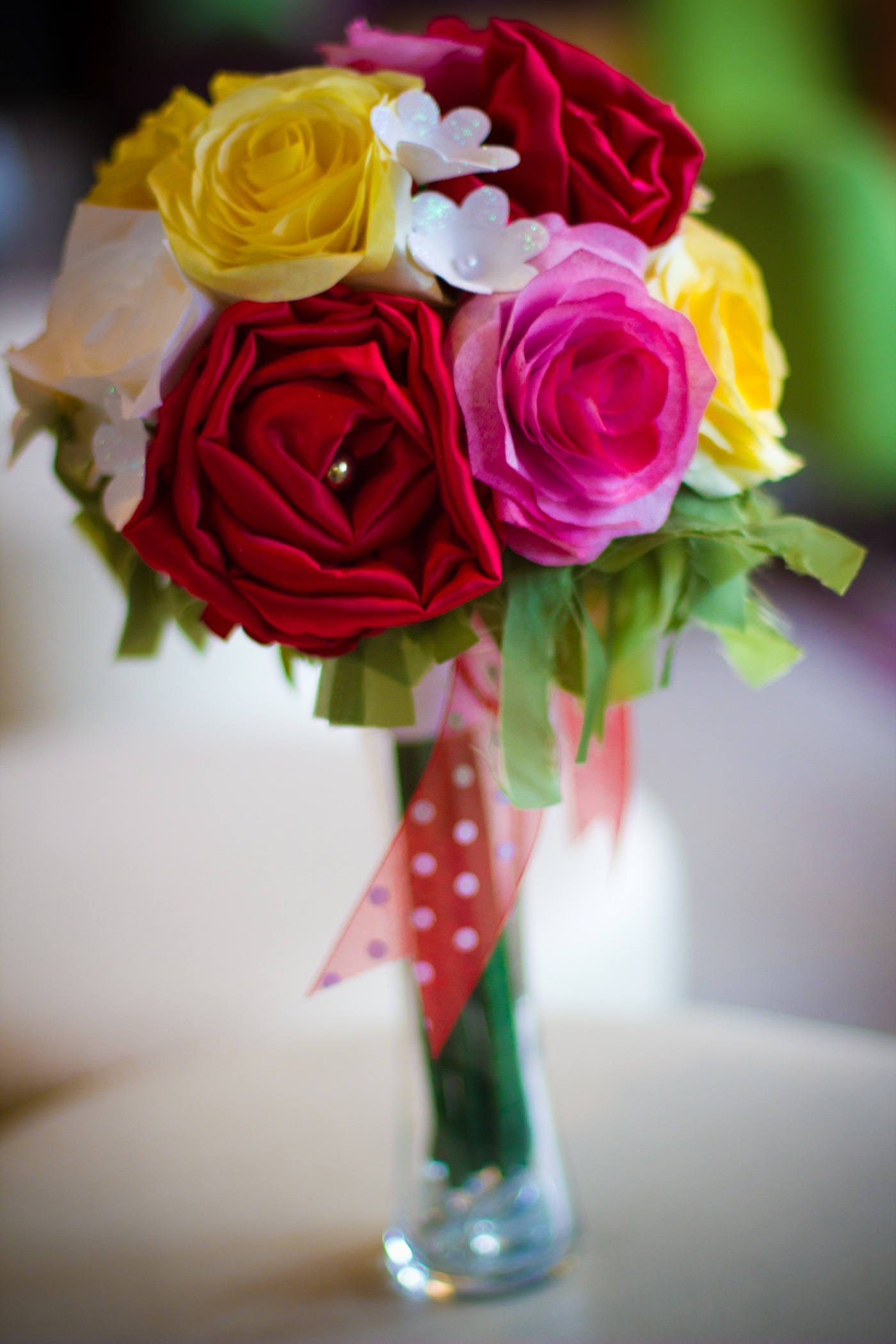 Rose mini decor bouquet whimwed