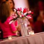 Handcrafted Fabric Floral Centerpiece 2